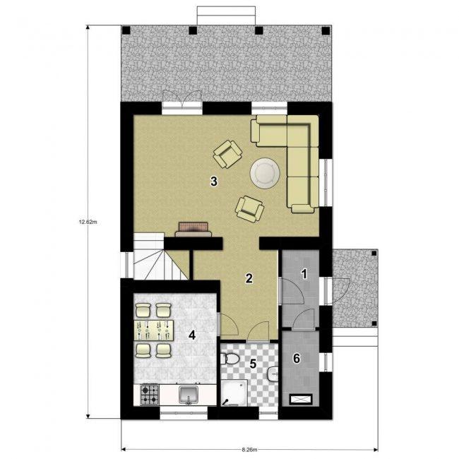 Проект дома-620