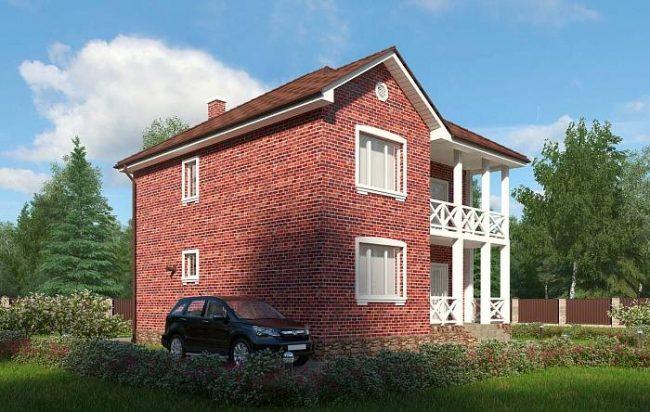 Проект дома-671