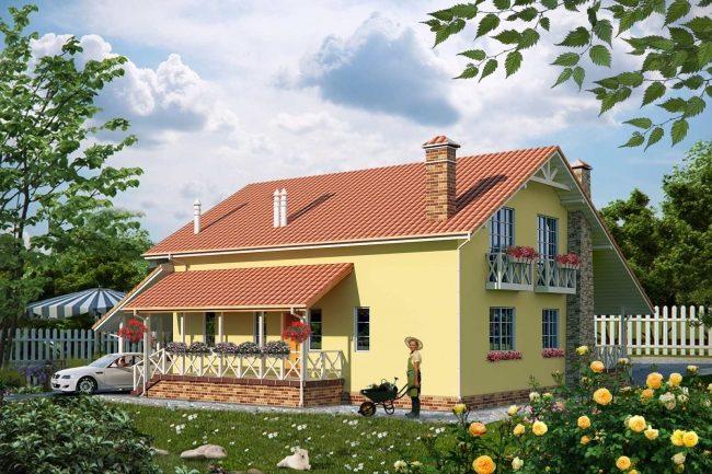 Проект дома-778