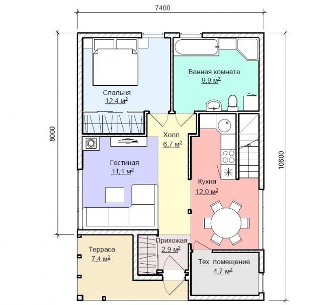 Проект дома-385
