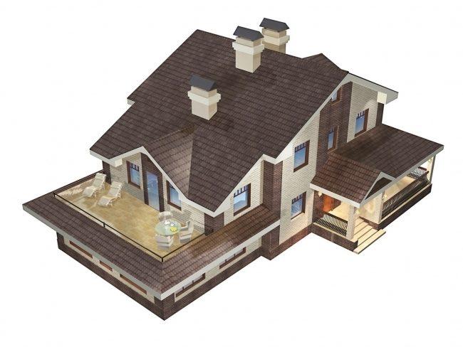 Проект дома-67