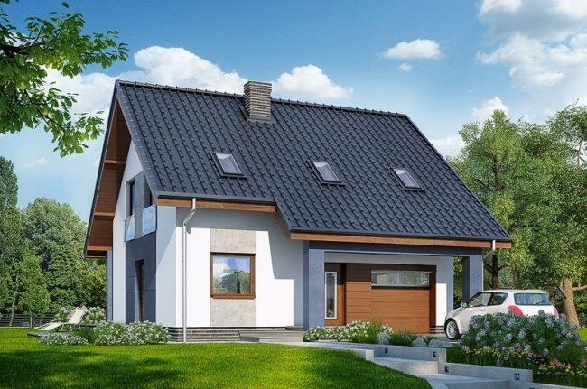 Проект дома-322