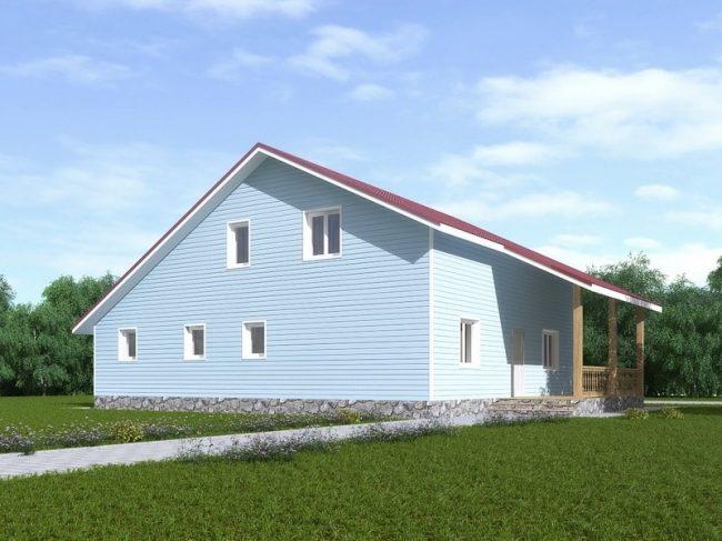 Проект дома-504