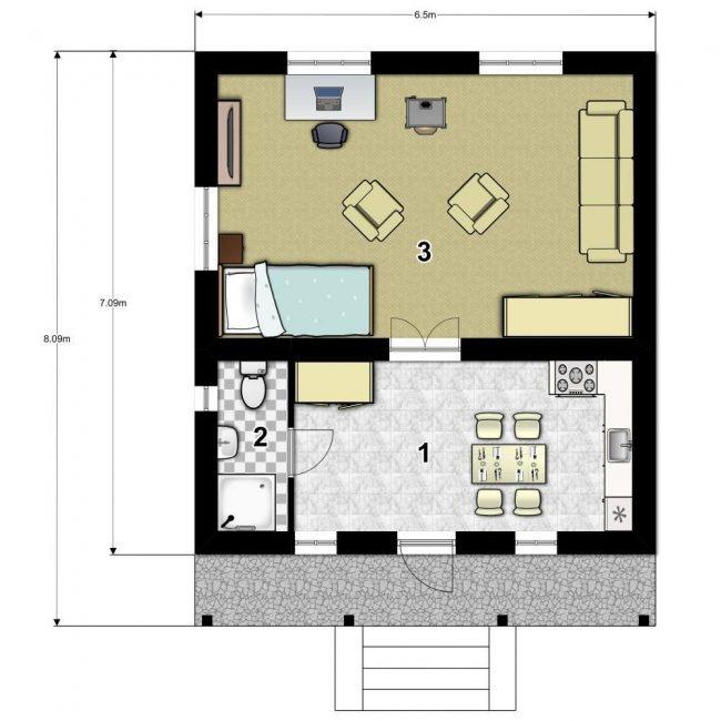 Проект дома-530