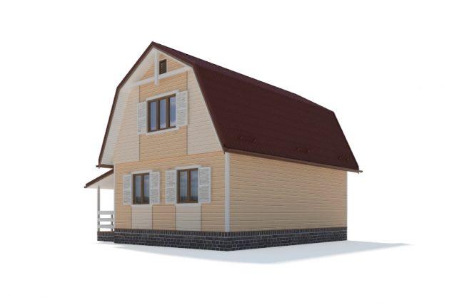 Проект дома-541