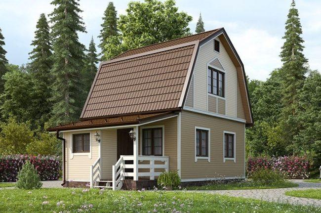 Проект дома-524