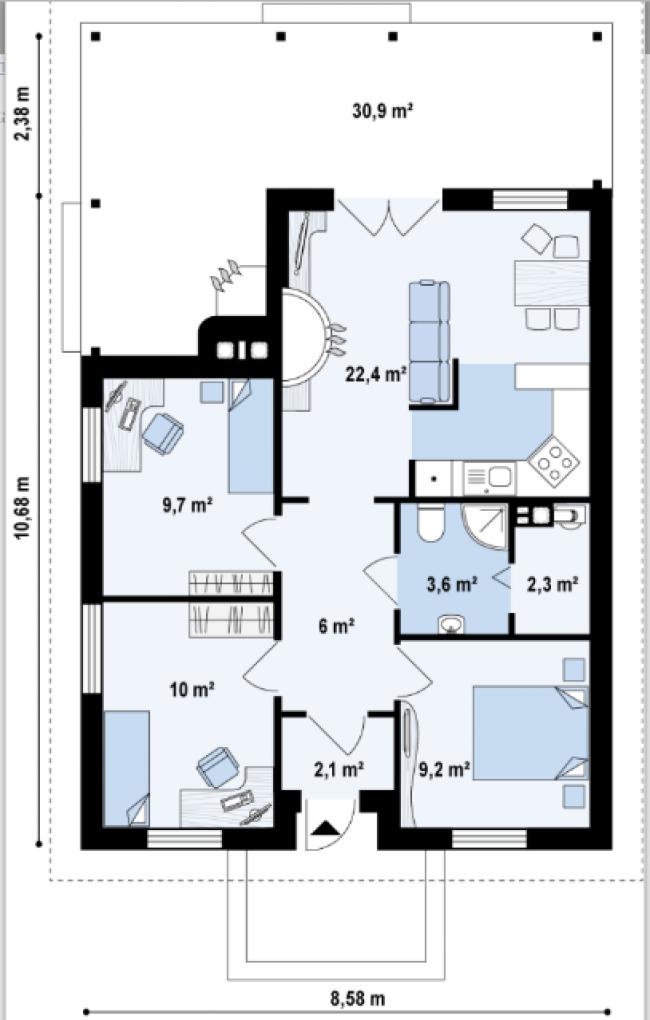 Проект дома-33