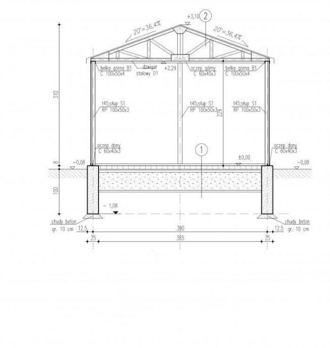 Проект гаража-32