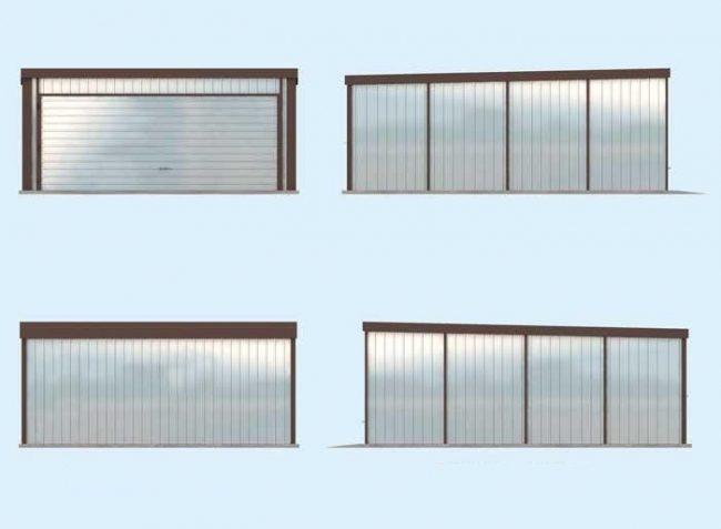 Проект гаража-48