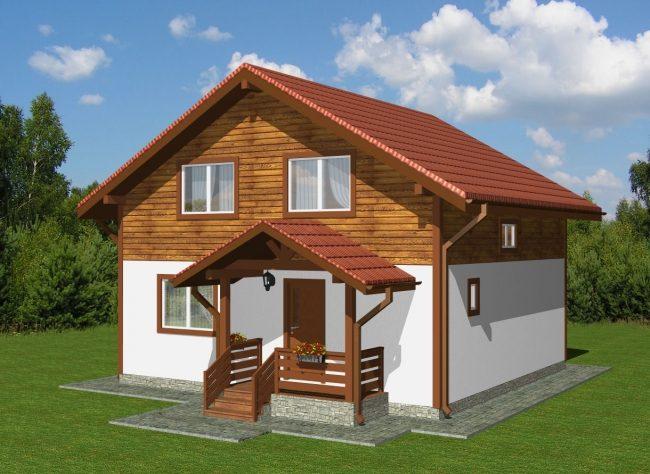 Проект дома-415
