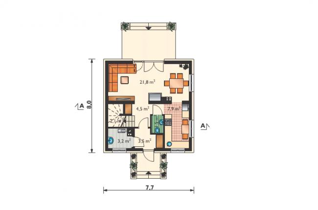 Проект дома-251