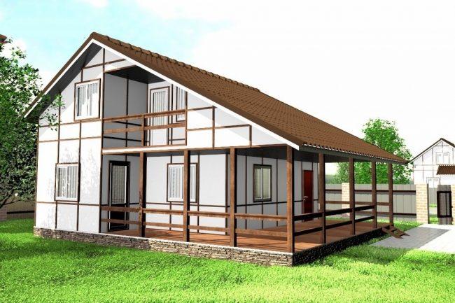 Проект дома-443