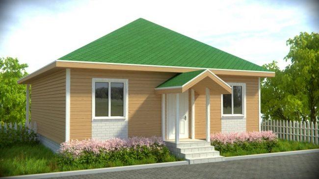 Проект дома-446
