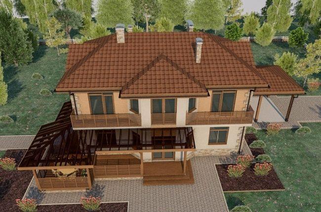 Проект дома-61