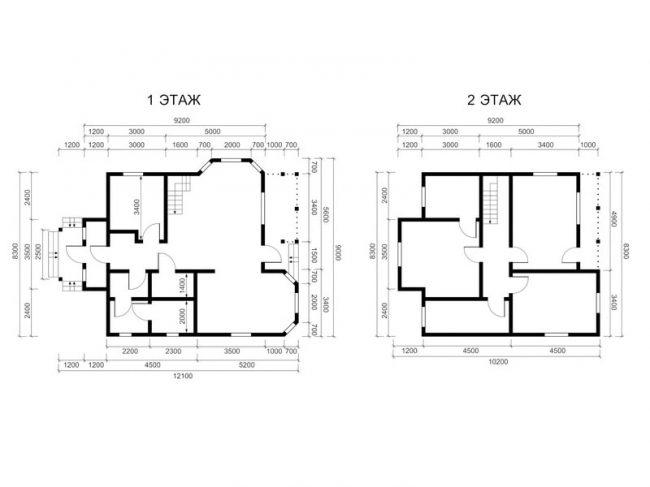 Проект дома-439