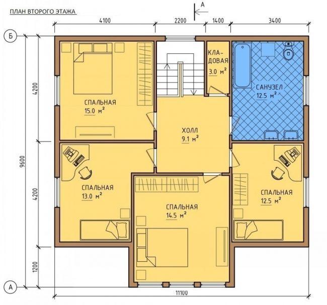 Проект дома-496