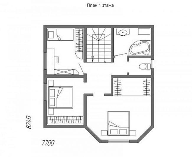 Проект дома-397