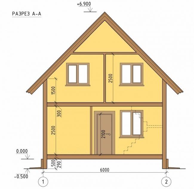 Проект дома-335