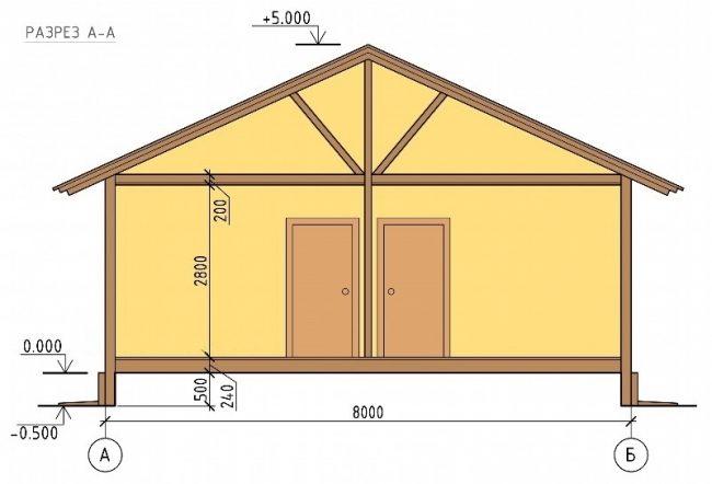 Проект дома-343