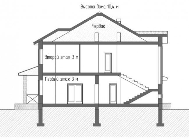 Проект дома-104