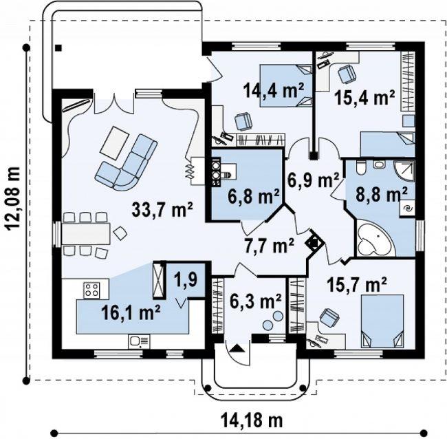 Проект дома-514