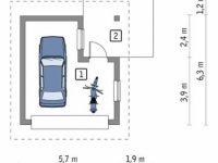 Проект гаража-79