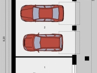 Проект гаража-207