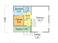 Проект дома-739