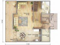 Проект дома-707