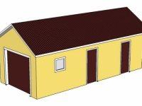 Проект гаража-16