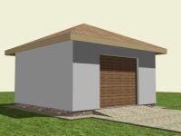 Проект гаража-50