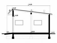 Проект гаража-204
