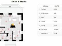 Проект дома-244