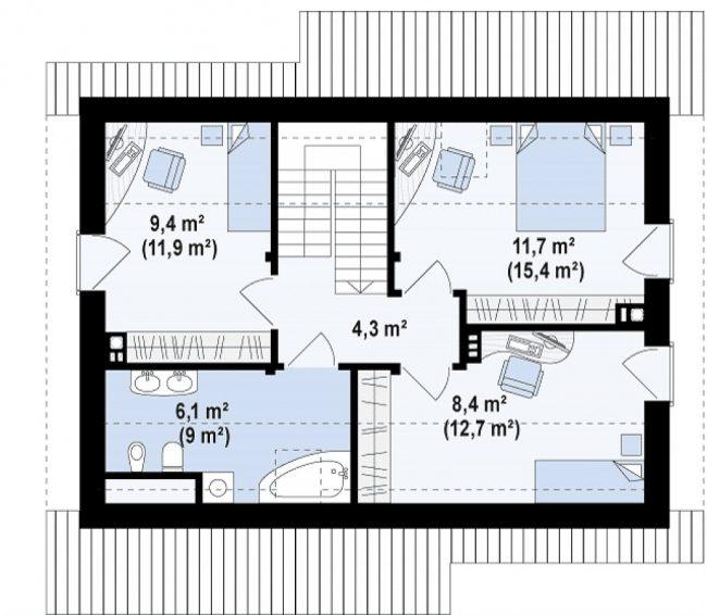 Проект дома-262