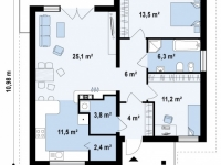 Проект дома-189
