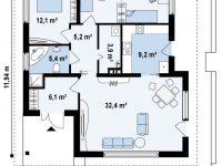 Проект дома-498