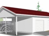 Проект гаража-74