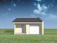Проект гаража-80