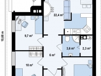 Проект дома-451