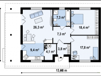 Проект дома-427