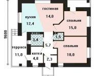 Проект дома-462