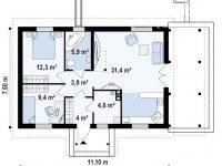 Проект дома-391