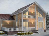 Проект дома-464