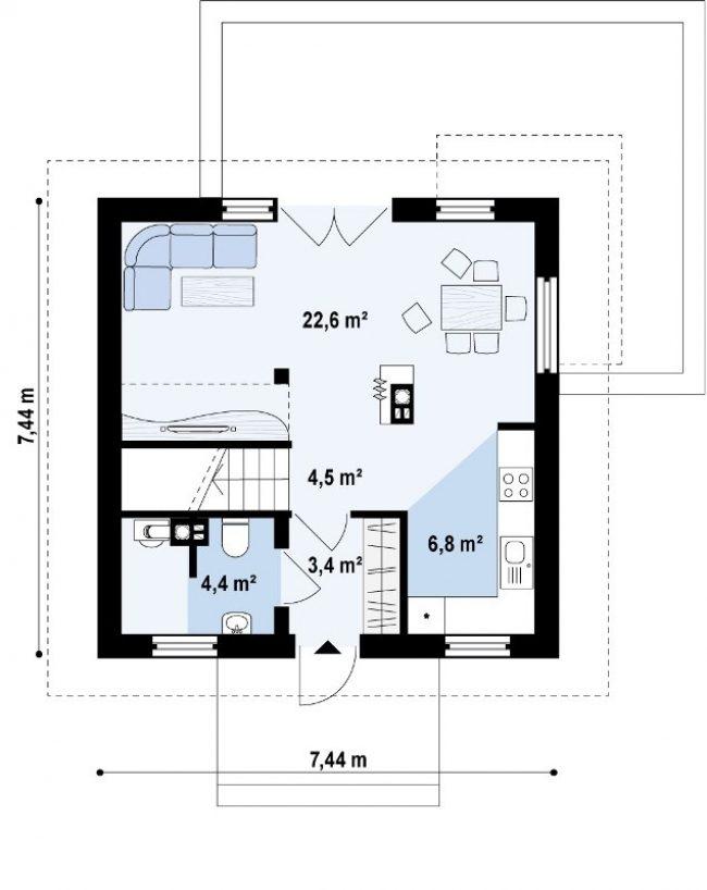 Проект дома-10